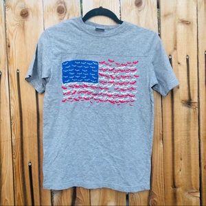 batman american flag t shirt boy